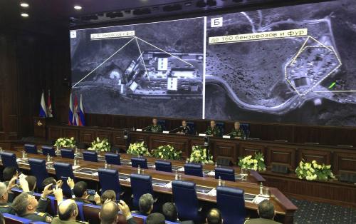 Sức mạnh lực lượng không gian Nga trên chiến trường Syria